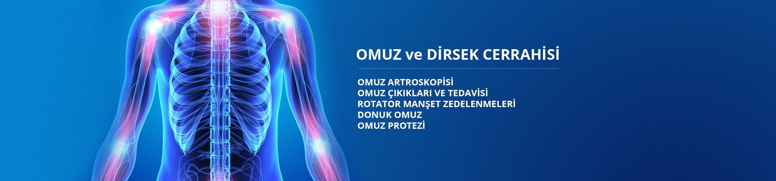 Omuz ve Dirsek Cerrahisi - Prof. Dr. Şenol Akman
